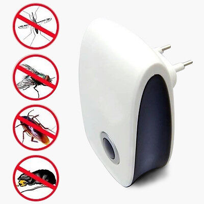 Ultrasonic Electronic Anti Mosquito Bug cockroach Pest Repeller Rat pest reject