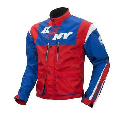 KENNY MX Jacke TRACK - blau-rot Motocross Enduro MX Cross