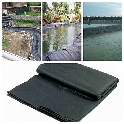 8-32ft Pvc Fish Pond Liner en Varios Dimensiones Estanque Peces  Pools