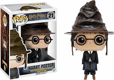 Harry Potter Pop! Vinyl Figure Harry with Sorting Hat  *BRAND NEW*