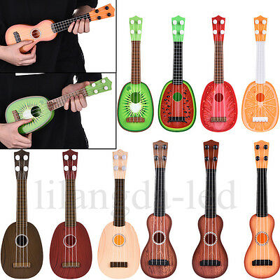 Cute Mini Fruit Classical Ukulele Hawaii Guitar Music Toy for Kids Children Gift
