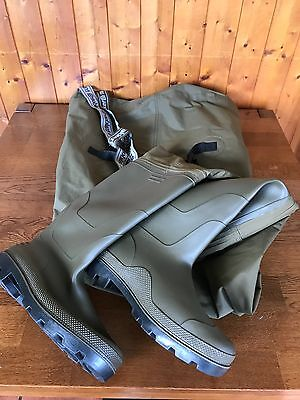 Trakker N2 Chest Waders Size 11 Brand New Unused With Bag