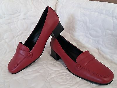 Womens 60's mod style shoes size 7