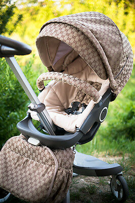 Gucci style kit fits any Stokke Xplory V3 V4 V5, Trailz, Cruzi