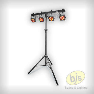 Chauvet DJ 4BARTRIUSB 4BAR TRI USB4 x LED Par 28 x 3 Watt TRI LEDs on DMX Bar
