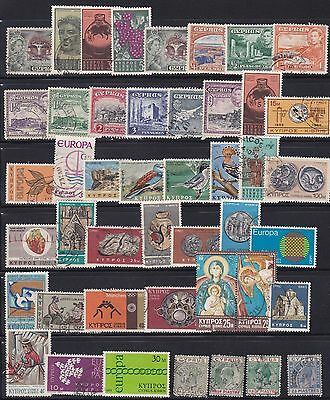 Cyprus Lot / Collection Of 45 Stamps