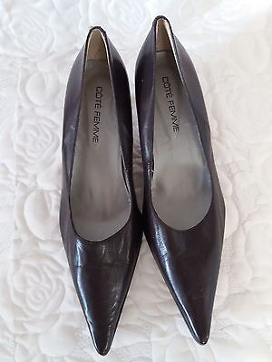 Womens 60's mod style shoes size 6 1/2