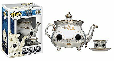Disney Beauty and the Beast Pop! Vinyl Figure - Mrs Potts and Chip  *BRAND NEW*