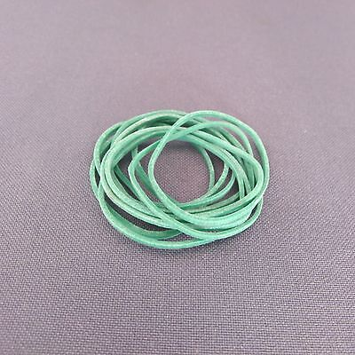 THIN RUBBER BAND FOR MONEY 10 pieces Green colour