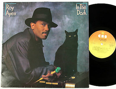 ROY AYERS In The Dark LP vinyl album UK 1984 CBS plays EX