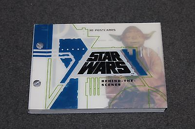 Star Wars: behind the Scenes: 30 Postcard Book (Chronicle Books 1995) lucasfilm