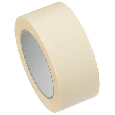 6 Rolls Masking Tape Strong 50mm x 50m Decorating/Painting Easy Tear Painter