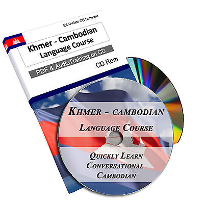 172 Khmer Cambodian Language Learn Speak Course Learning Study Audio MP3 PDF CD