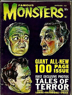 Famous Monsters Of Filmland #19 Fn/vfn Condition