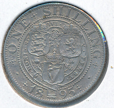 Great Britain Shilling 1895 - VF