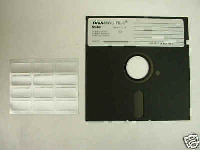 "New 360K FLOPPY DISKETTES QTY 100 5.25"" inch  DSDD"