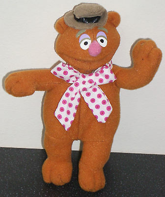 Fozzy Bear from The Muppets Jim Henson Plush Soft Toy 2002 Collectable McDonalds
