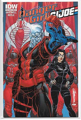 Danger Girl G.I. Joe 4 B J Scott Campbell Variant VERY RARE IDW 2012 Baroness