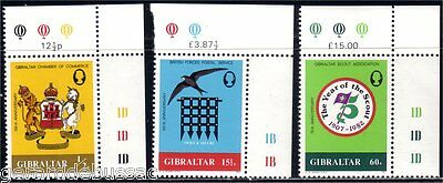 Gibraltar Scouts  MNH ** (19)