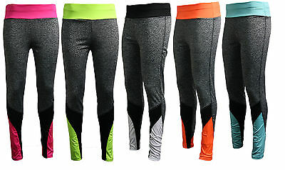 Womens Ladies Fitness Yoga Running Leggings Gym Exercise Sports Pants Trousers