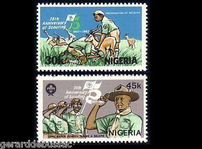 Nigeria Scouts Baden Powell  MNH ** (43)