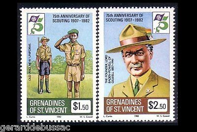 Saint Vincent Grenadines Scouts Baden Powell MNH ** (49)