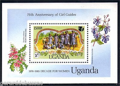 Uganda Scouts Baden Powell S/S MNH ** (60)