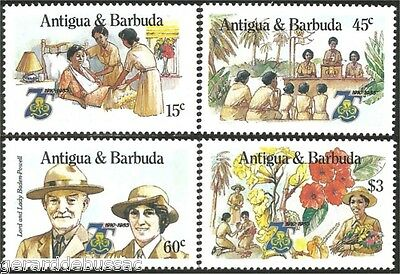 Antigua Barbuda Scouts Baden Powell MNH ** (65)