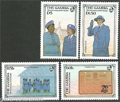 Gambia Scouts Girl Guides  Baden Powell MNH ** (74)