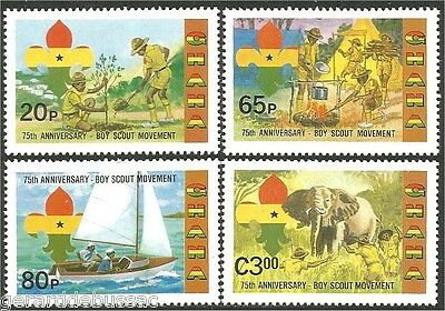 Ghana Scouts  Baden Powell MNH ** (76)