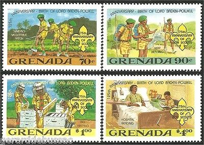 Grenada Scouts  Baden Powell MNH ** (78)