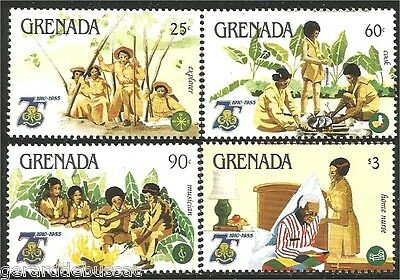 Grenada Scouts  Baden Powell MNH ** (79)
