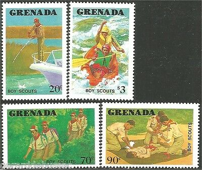 Grenada Scouts  Baden Powell MNH ** (80)