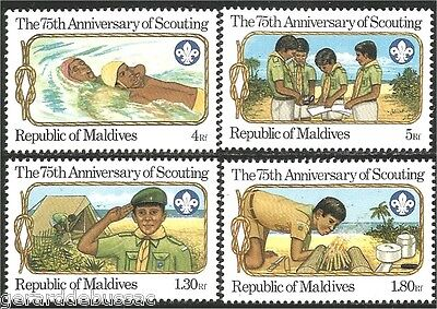Maldives Scouts  Baden Powell MNH ** (86)