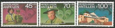 Netherlands Antilles Scouts  Baden Powell MNH ** (90)