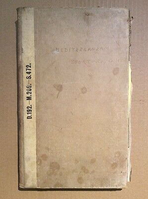 HAND WRITTEN HUNTING SHOOTING GUIDE - Mediterranean sporting guide - maps 1931