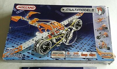 Meccano MultiModels 15 models 6023647 construction set boy toy Large Build