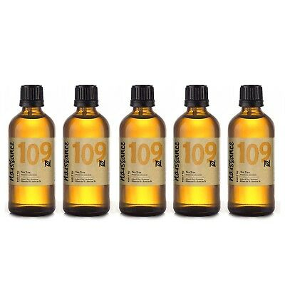 Naissance Wholesale Tea Tree Essential Oil 500ml (5 x 100ml)