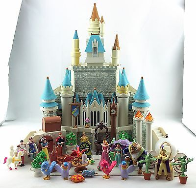 Disney Monorail Cinderella Castle Lights and Sounds Playset with Accessories
