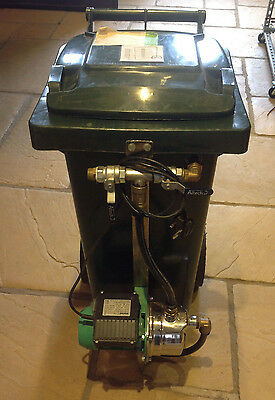 Ground Source loop/Solar Thermal filling/flushing unit 80ltr