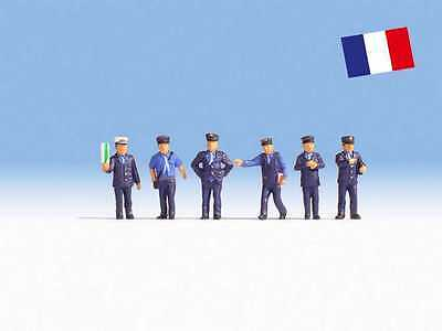 Figurines Ho 1/87 Noch 15269 - Personnages Sncf