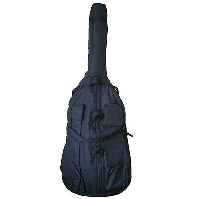 Stentor 3/4 Size Padded Rayon Canvas Double Bass Cover