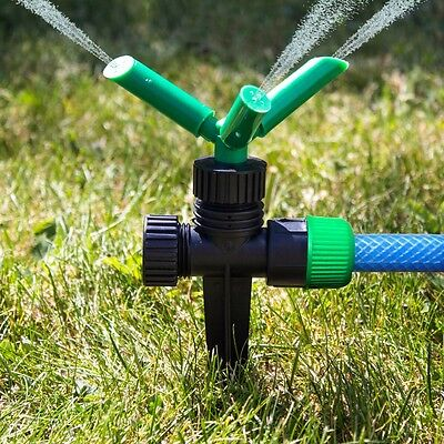 QUALITY GARDEN SPRINKLERS/SPRAYERS Grass/Lawn Feeder Hose PIpe Water/Watering