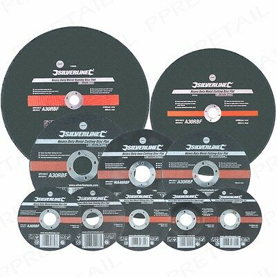 HEAVY DUTY METAL STAINLESS STEEL CUTTING/SLITTING GRINDING DISCS Angle Grinders