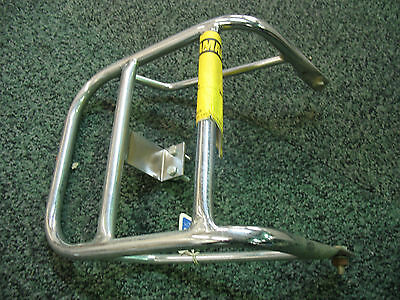 Yamaha Dt 125 Lc 1982>83 Luggage Carrier Rack Chromed Metal Made In England New