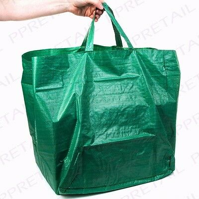 HEAVY DUTY GARDEN REFUSE/WASTE BAGS 60L Quality Recycling Sacks Grass/Rubbish