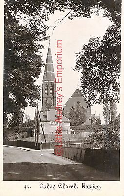Postcard Vintage St. Matthew's Oxhey Church Bushey Unposted AJ007