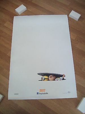 Despicable me 3 original movie one 1 sheet poster DS Minions!!!!!