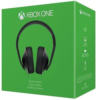 Xbox One Stereo Headset - Headset Only Retail Boxed Grade A- Over-Ear Design