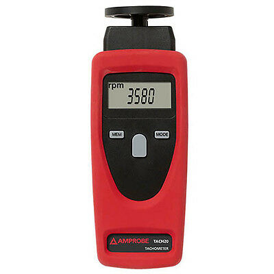 Amprobe TACH20 Combination Tachometer Contact and Non-Contact